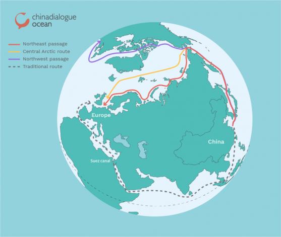 """關注:中國的""""北極絲綢之路""""規劃!"""
