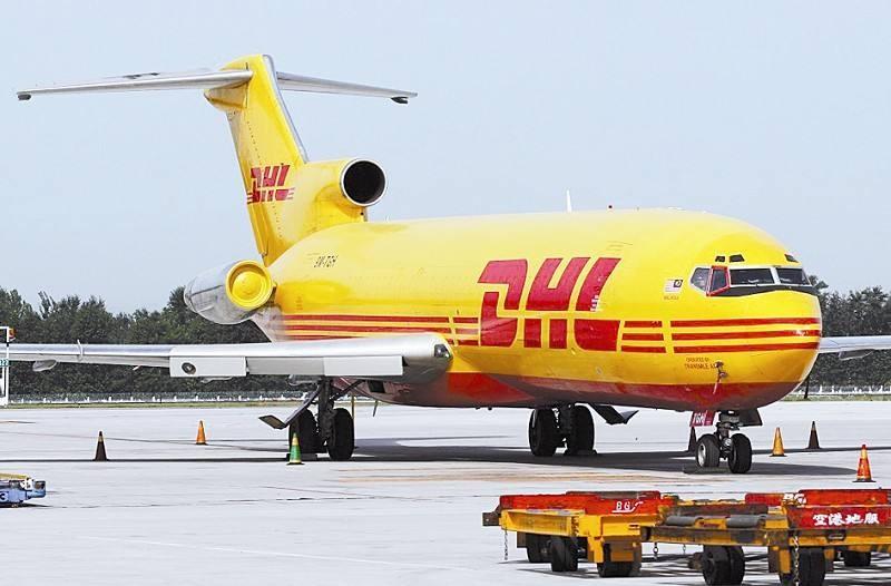 DHL开通中国到非洲和中东周航班
