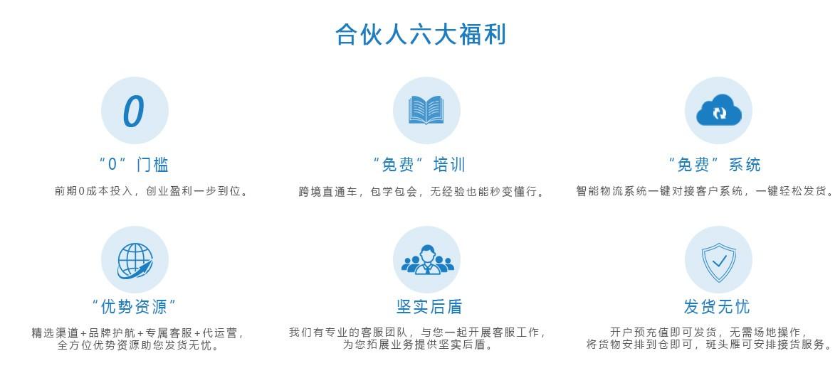跨境电商物流加盟