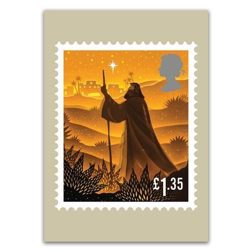 英国皇家邮政将条形码加入邮票