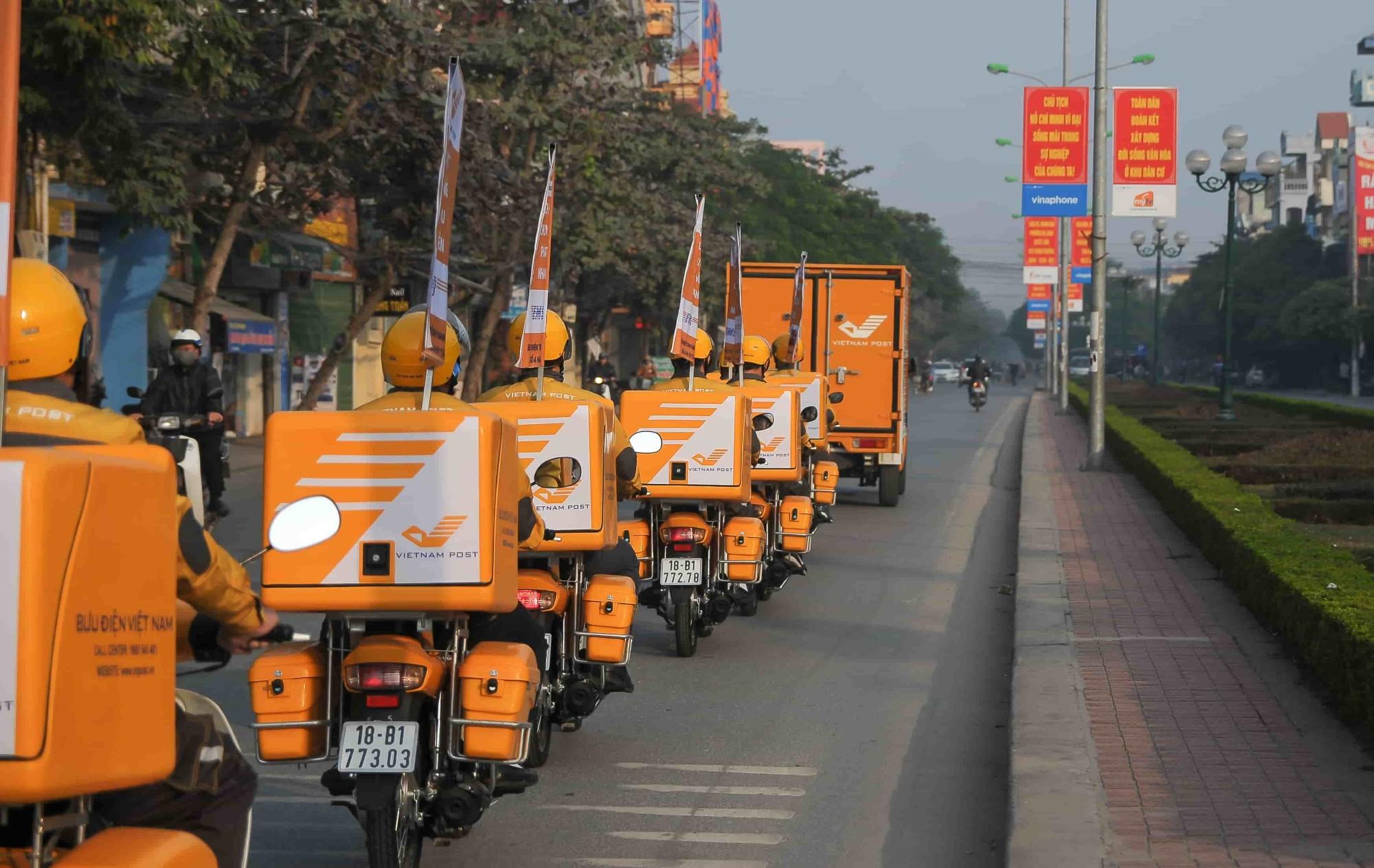 越南邮政试行提供24小时全天候无接触配送服务