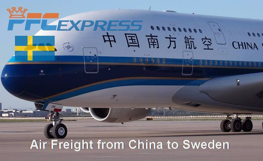 Air Freight from China to Sweden