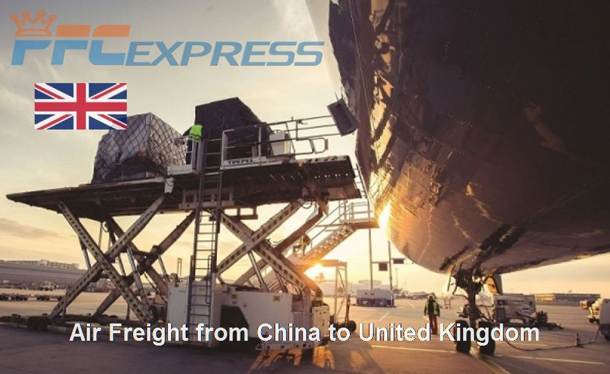 Air Freight from China to united kingdom