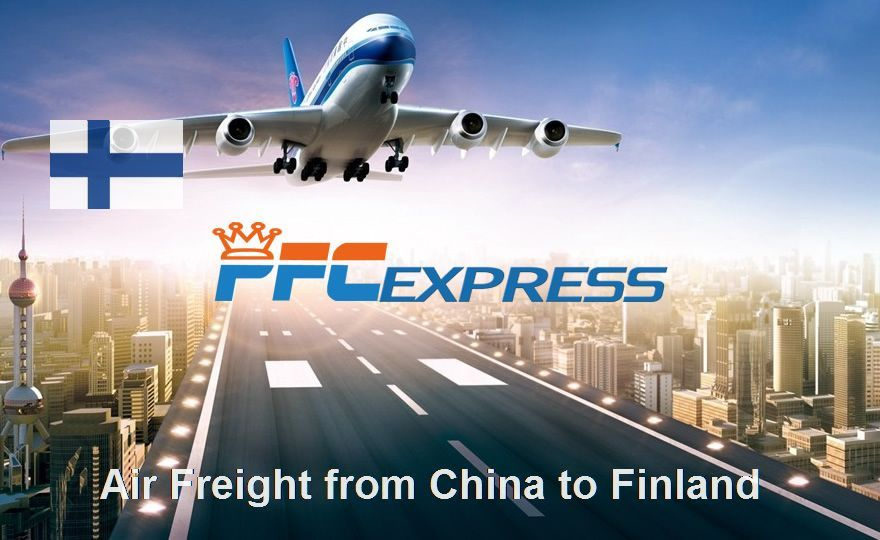 Air Freight from China to Finland